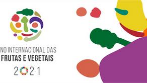 2021: Ano das frutas e vegetais segundo a Organização das Nações Unidas (ONU)