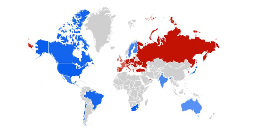 Mapa audiência NRF e Euroshop 2020
