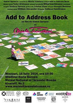 ADD to ADDRESS BOOK _ Film Poster _ dir. Andrei Oprescu.jpg