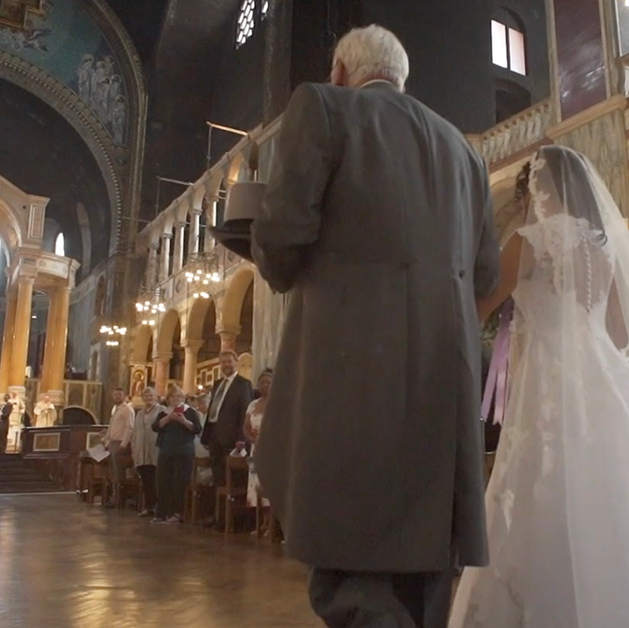 Westminster Cathedral Wedding