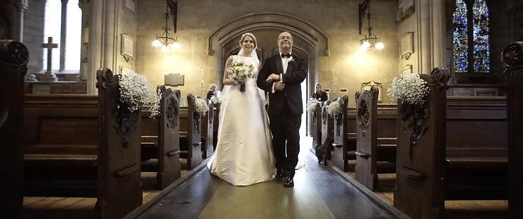 Wedding at St Mary Abbots Church