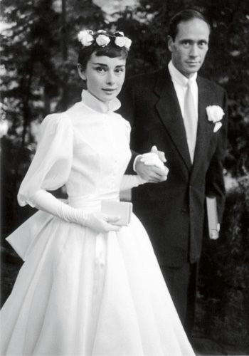 Audrey Hepburn Andrei Weddings