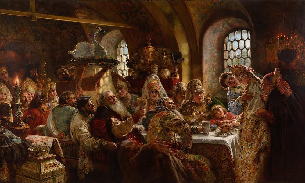 andrei weddings - Russian wedding traditions