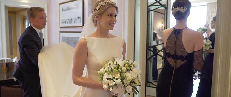 Wedding at Claridges