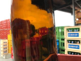 洗い瓶の検収作業