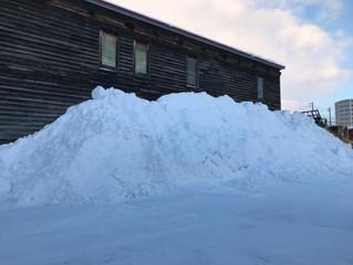 除雪からの仕事