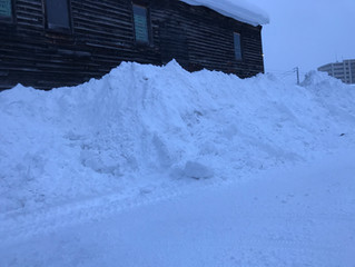 積雪量78cmの旭川