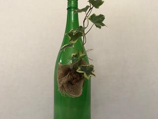 緑瓶を使って