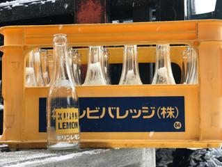 洗って(リユース)使っているジュース瓶①