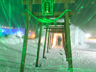 層雲峡の氷瀑祭り