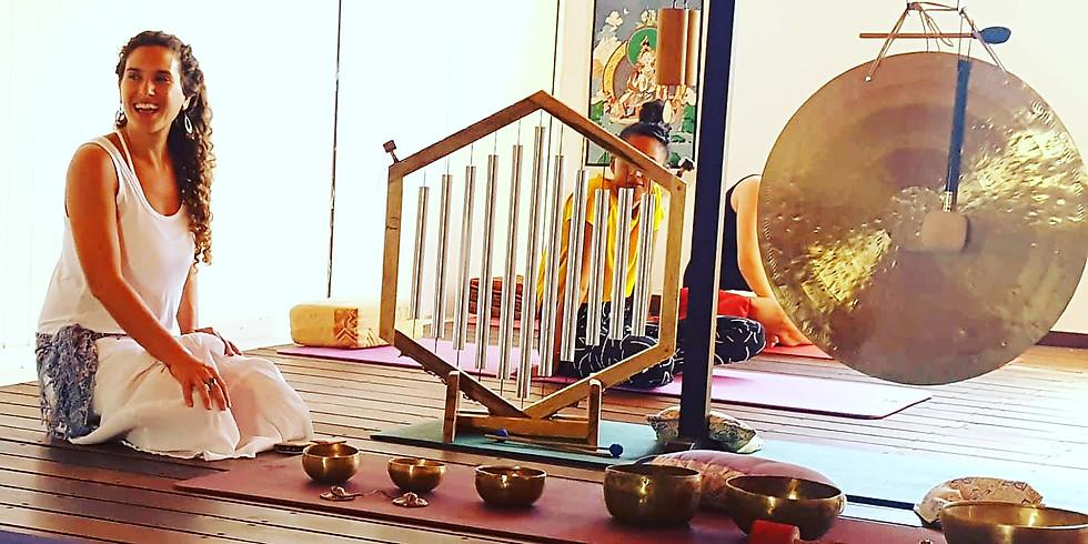Yoga and Sound .סדנאת עומק בצליל ויוגה עם אידה ומיכל