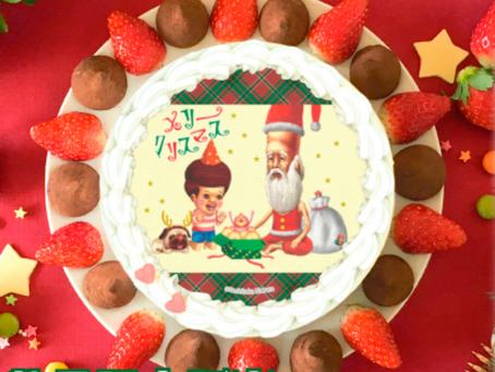 【WEB】プリントケーキ通販「プリロール」にこびとづかんのクリスマスデザインが登場!