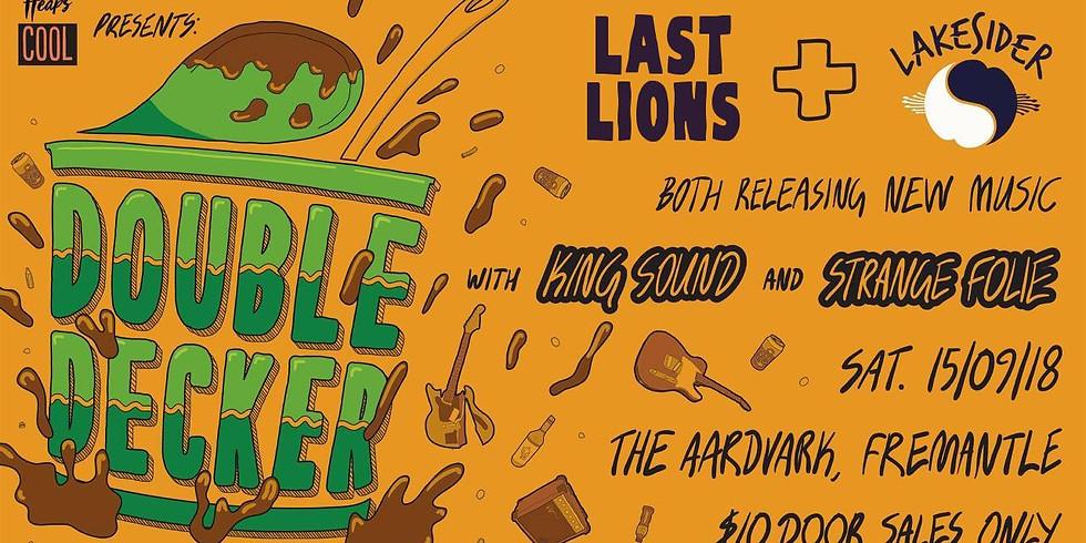 Last Lions / Lakesider Single Launch
