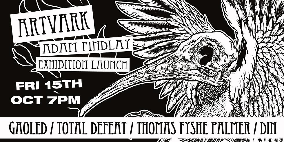 Artvark: Adam Findlay Exhibition Launch