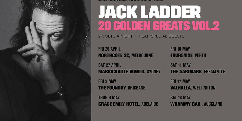 Jack Ladder '20 Golden Greats Vol. 2' Tour