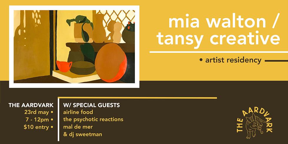 Artvark: Mia Walton Exhibition Launch
