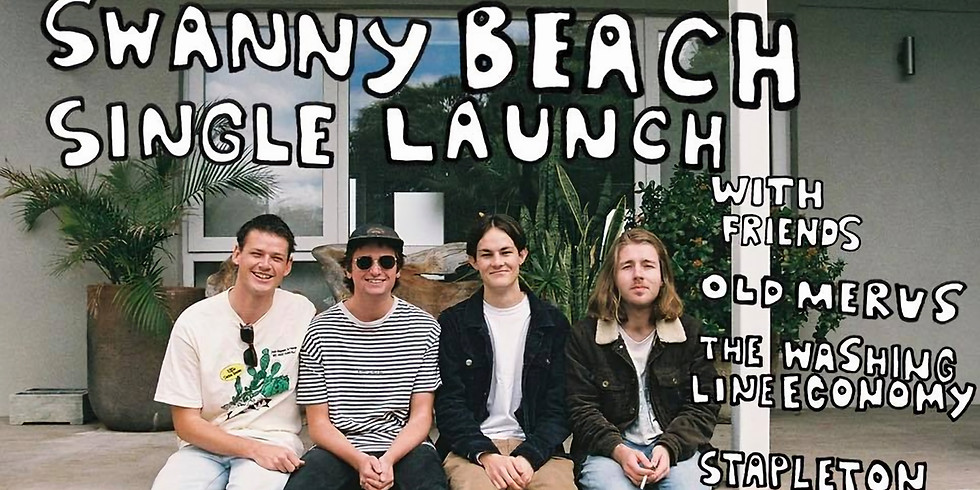 Ra Ra Viper 'Swanny Beach' Single Launch SOLD OUT