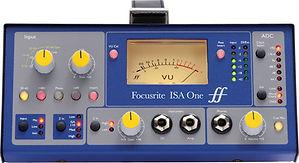 Voice-over microfoon voorversterker Focusrite ISA One.