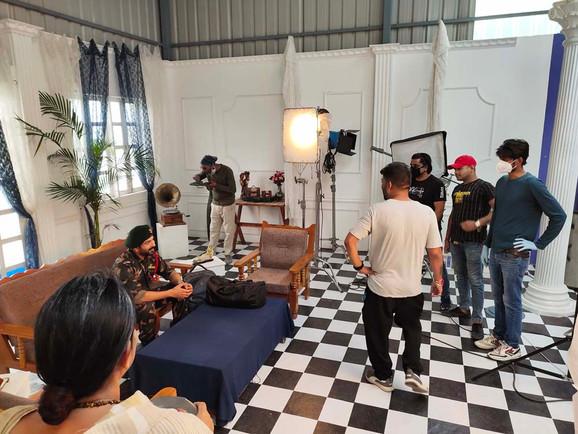 BTS Commercial Shoot #schoolofcinematics.com