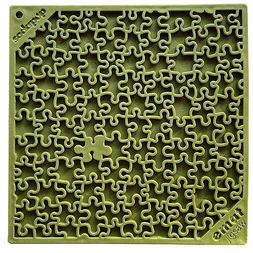 Tapis de léchage Puzzle Sodapup Vert