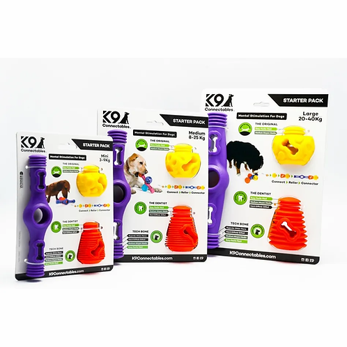 Starter Pack K9 Connectables Starter Pack jouet puzzle pour chiens