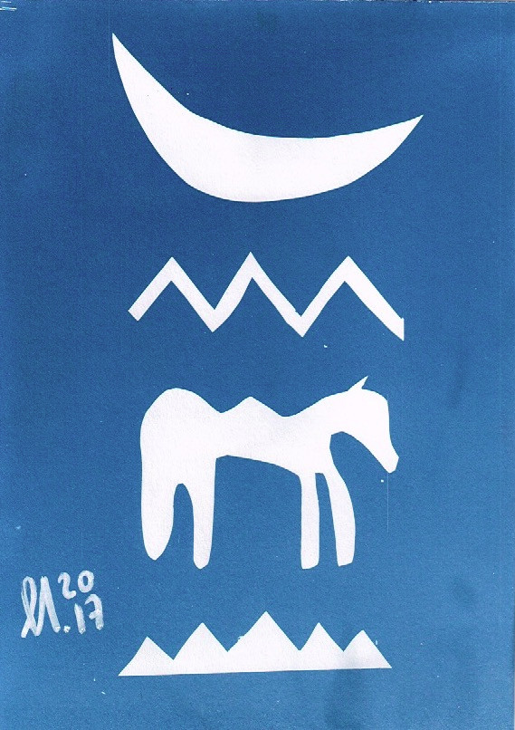 Dream - cyanotypes