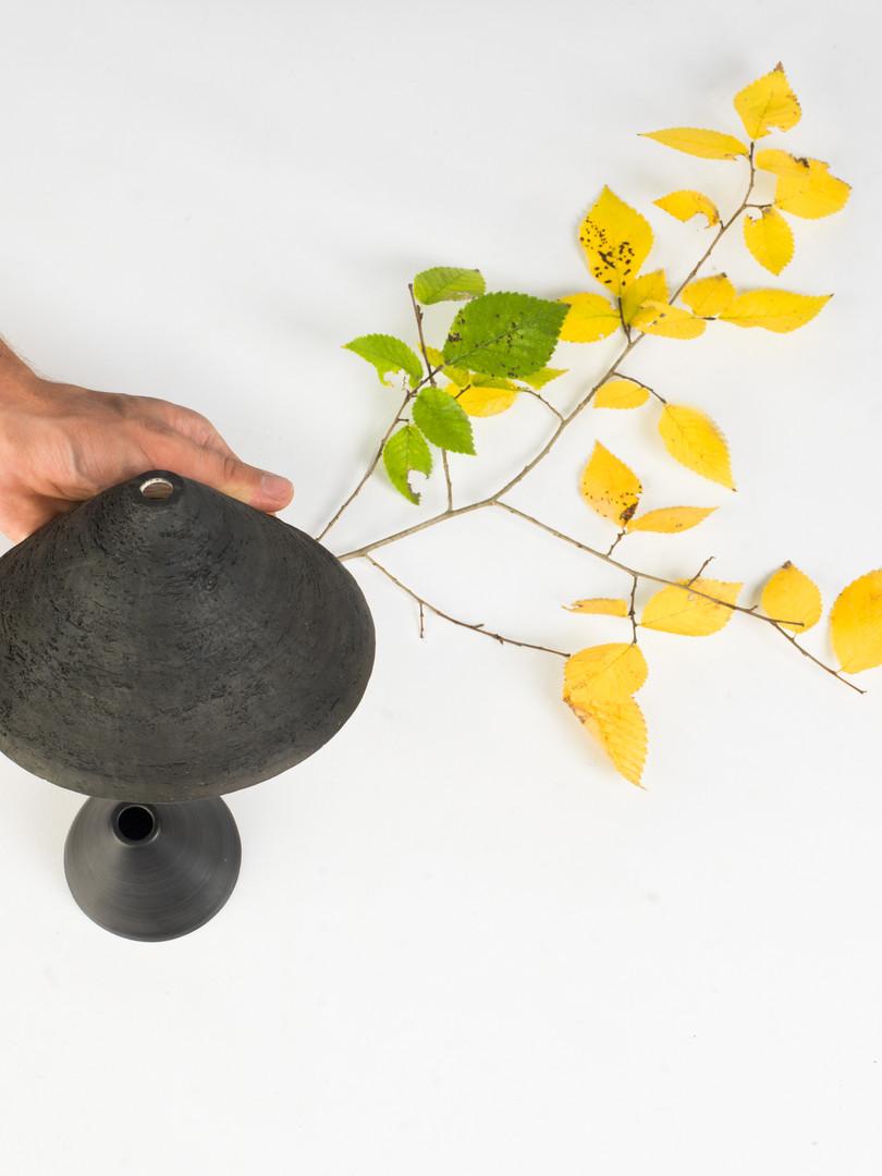 La montagne noire - vase soliflor