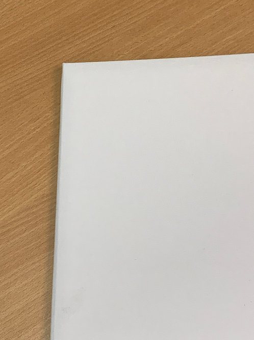 White Cotton Luxury Certificate Folder- from $26 each