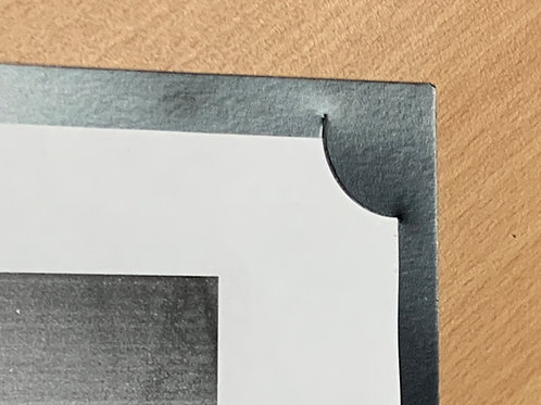 High Gloss Black Corner Mount Folders- from $2.60 each