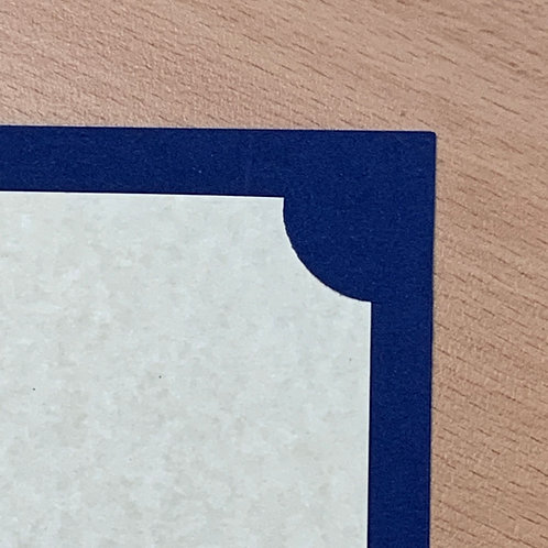Royal Blue Corner Mount Folders- from $2 each
