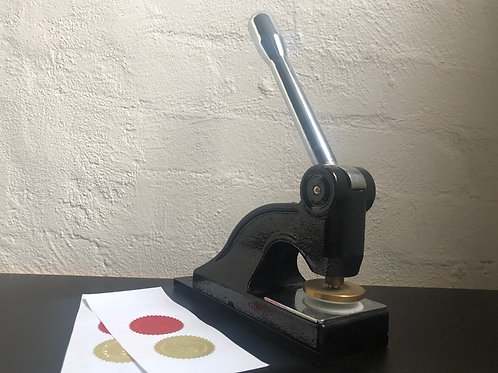 Embossing Tooling- $205