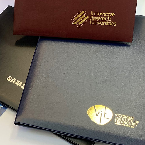 Foil Highlighting on Certificates
