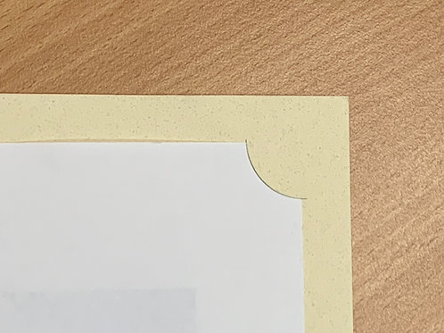 Beige Corner Mount Folders- from $2 each