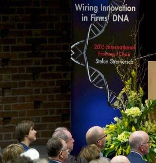 MTI²'s Founder Stefan Stremersch wins Prestigious Francqui Award for Work on Grassroots Innovation