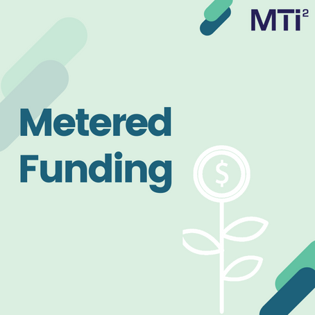 Metered funding: Innovate more with fewer resources