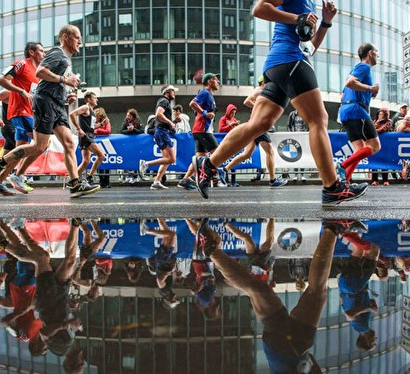 Running = Innovation (learning from personal record in Berlin Marathon)