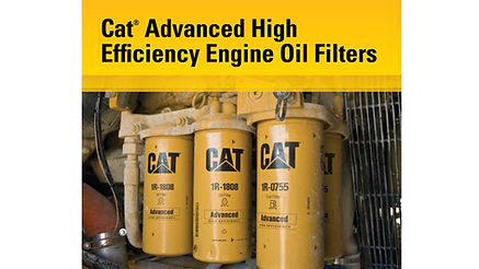 Cat advanced High Efficienct Engine Oil