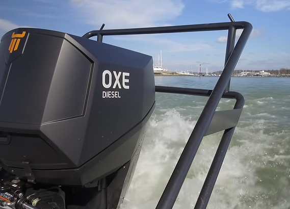 OXE 200hp Diesel Outboard _ Review_ Moto