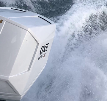 TSL commissioned a RIB tender vessel fitted with twin OXE175 Kreta outboards