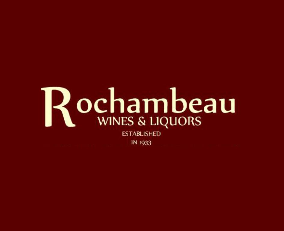 A box of wine from Rochambeau