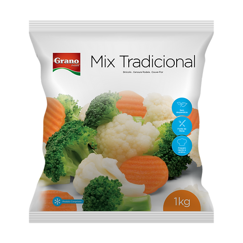 Mix Tradicional Congelado Grano 1kg