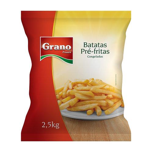 Batata Pré-Frita Congelada Grano 2,5kg