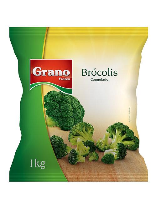 Brócolis Congelado Grano 1kg