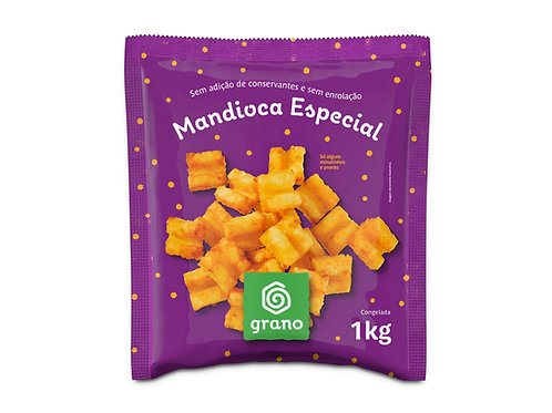 Mandioca Especial Congelada Grano 1kg