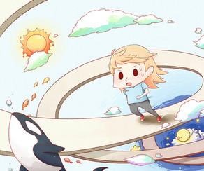 不停息地⾶飛翔吧!