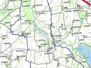 Circuit modifié du dimanche 15 mars 2020