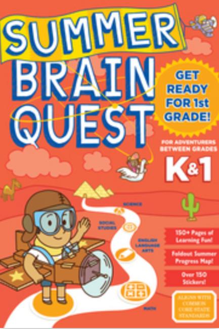 Summer Brain Quest: K/1