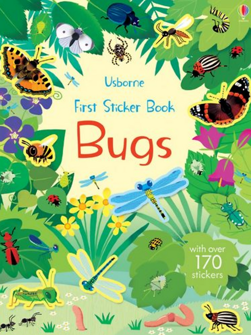 First Sticker Bug Book