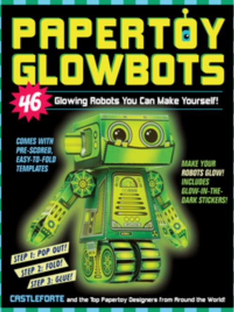Paper Toys Glowbots