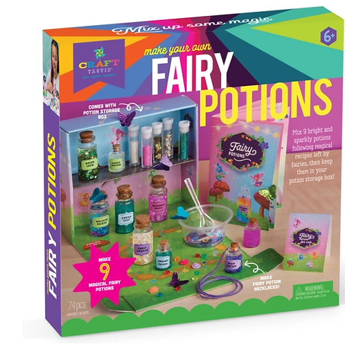 Craft-tastic Make your own Fairy Potions Kit